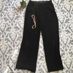 Bebe women's wide leg business dress pant trousers